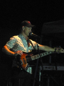 Aug 3: Went to see a benefit concert featuring my main man Gary Sinise and the Lt. Dan Band.