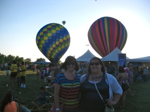 Great Midwest Hot Air Balloon Fest.