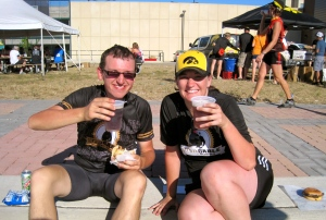 Post ride beer!