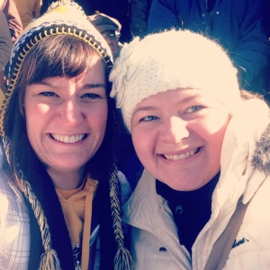 Went to the last Iowa football home game against Michigan, with Becky Joyful.  Iowa won and we froze.